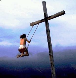 cruz y columpio