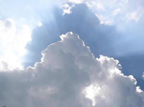 dios entre las nubes