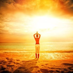 ser saludo al sol