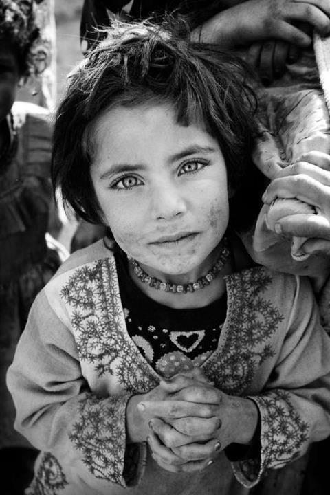 niña ojos hermosos