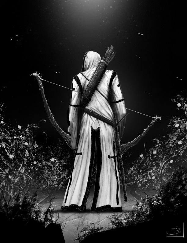 hombre arquero