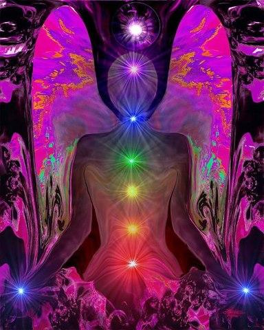 Poderoso Decreto para limpieza total de energía Chakras-colores-maravillosos