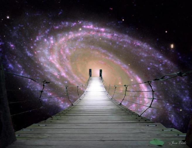 galaxia puente