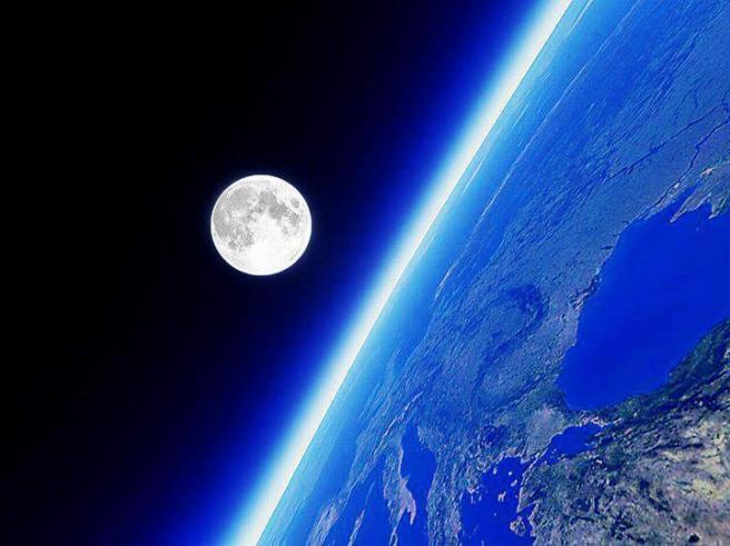 planeta y luna