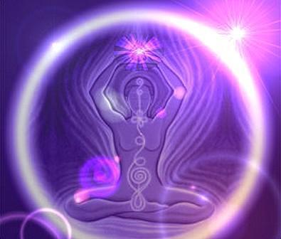 ser en esfera violeta