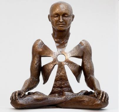 hombre meditacion