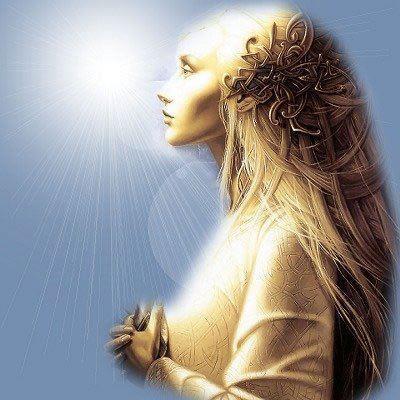 mujer angel