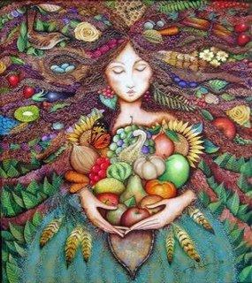 mujer abundancia