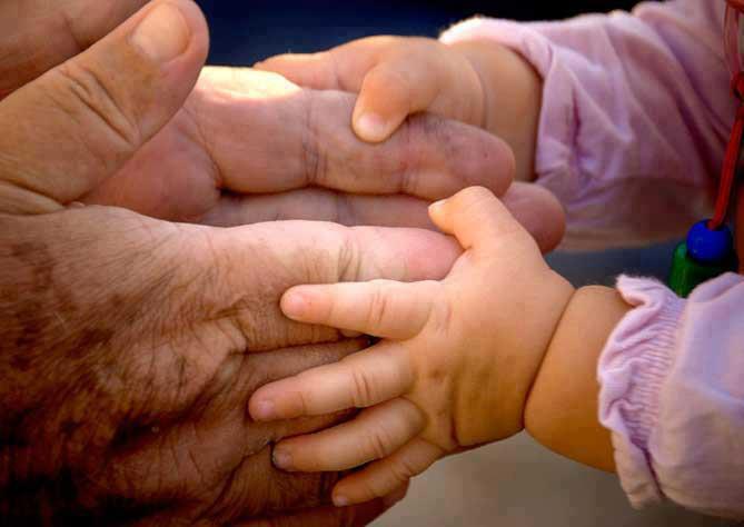 manos edades