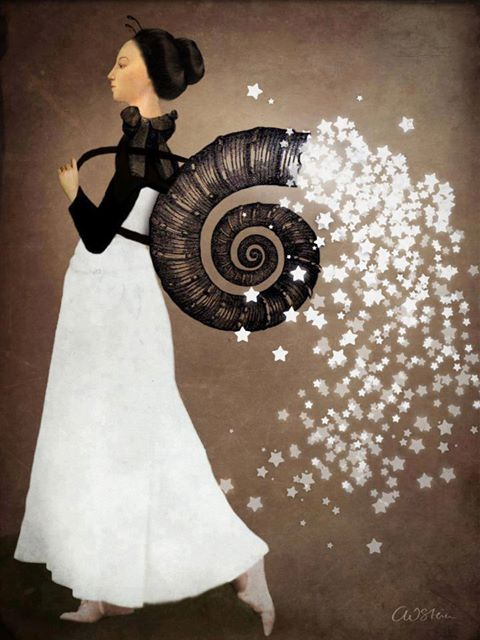 mujer cesta deseos