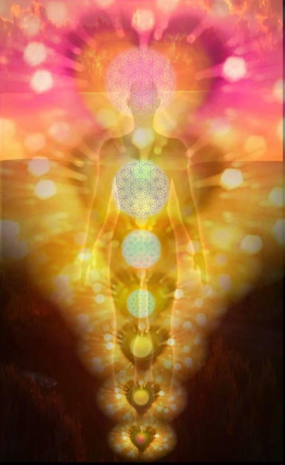 Resultado de imagen de sanadora del bien irradia luz