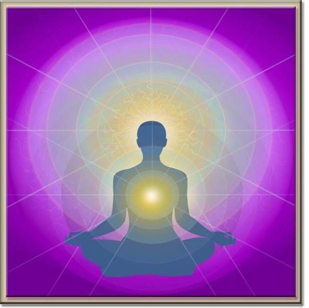 meditación rosa