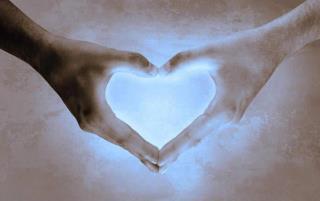 reiki, corazon de luz