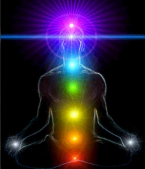 chakras luminosos
