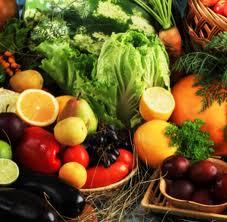 comida vegetal