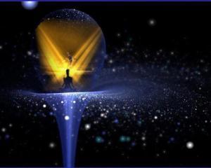 universo y burbuja
