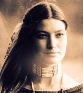 mujer digna india americana