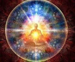 meditacion en esfera colores