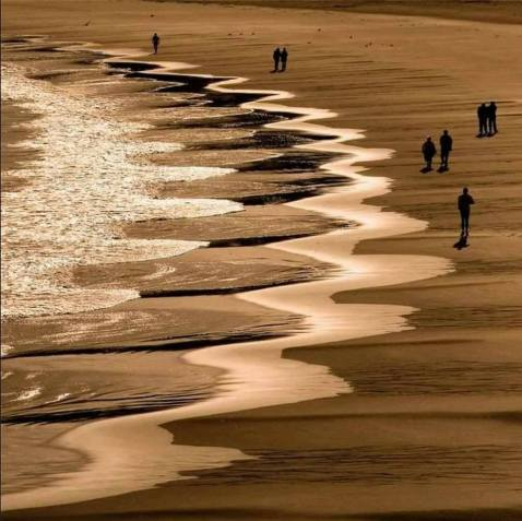 playa arena geometria
