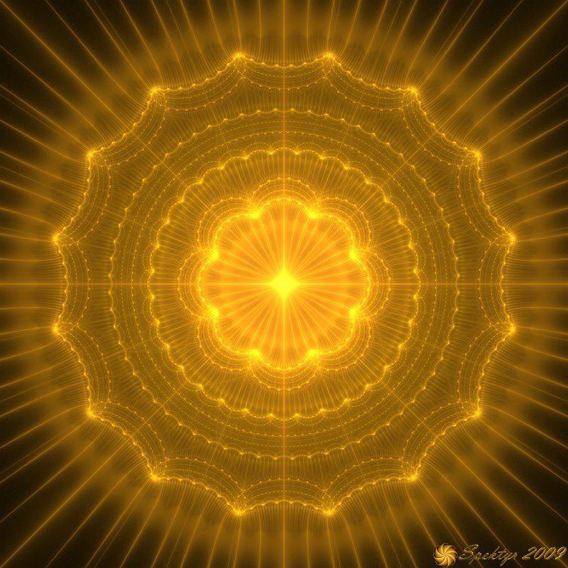 mandala energía y luz