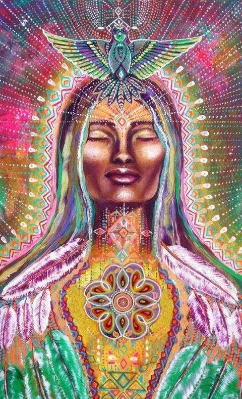mujer sagrada