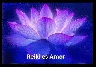 reiki flor azul